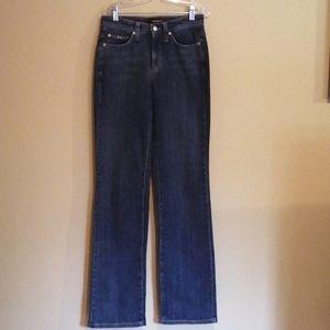 Cambio straight leg jeans.